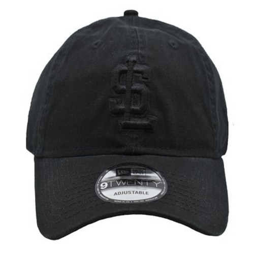 Black on Black Secondary Core 9twenty Hat -  - Black - Primary - New Era