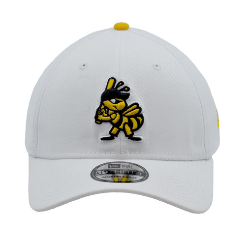 Jersey Hook Home 39thirty Hat - HeadwearStretchMens - Salt Lake Bees -  - Primary - White - New Era
