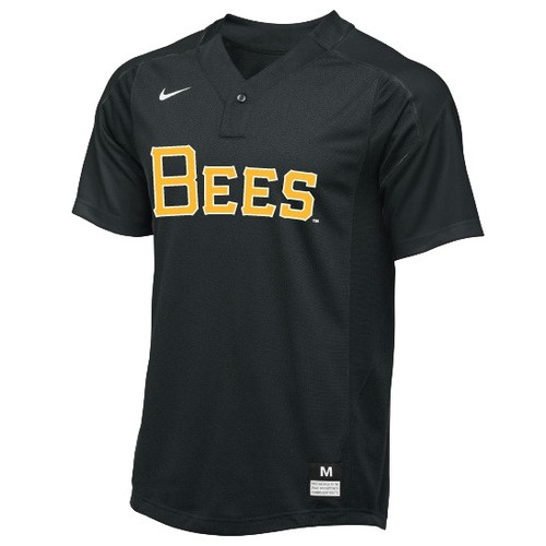 Wordmark Swoosh Pullover - MensApparelPullovers - Salt Lake Bees -  -  - Black - BSN Sports