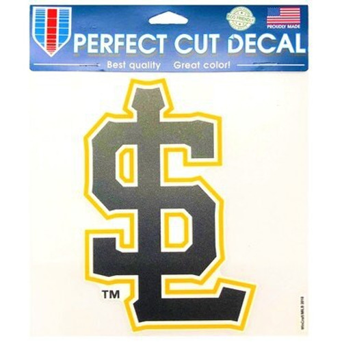 Secondary Logo 8x8 Decal - NoveltyStickers - Salt Lake Bees -  - Primary -  - Wincraft