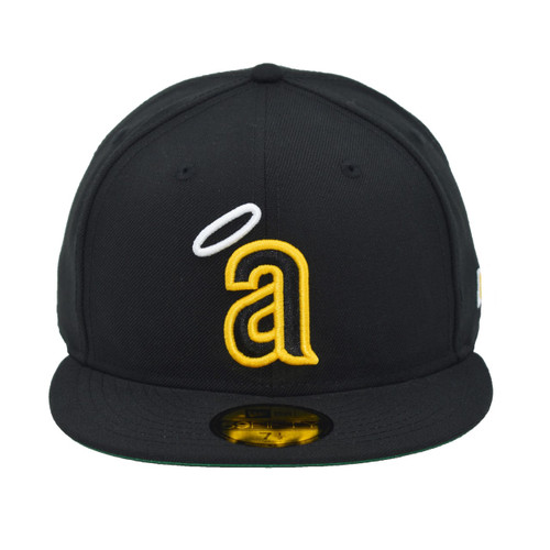 Make It Alright 59fifty Hat - HeadwearFitted - Los Angeles Angels -  - Primary - Black - New Era