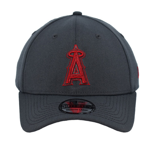 Bettinger Maybe 39thirty Hat - HeadwearStretch - Los Angeles Angels -  - Primary - Gray - New Era