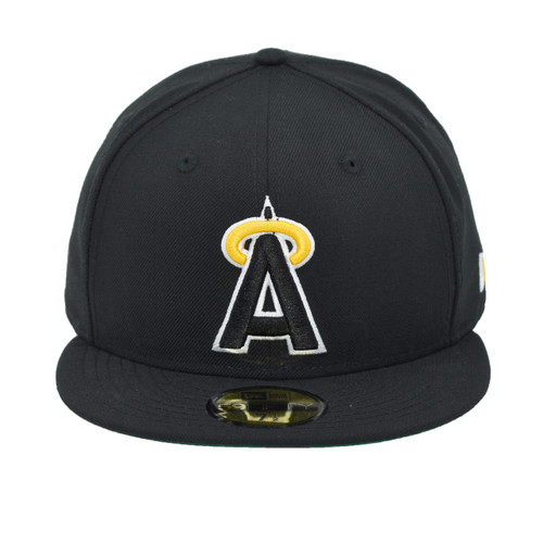 Uncomfortable 59fifty Hat - - Los Angeles Angels -  - Primary - Black - New Era