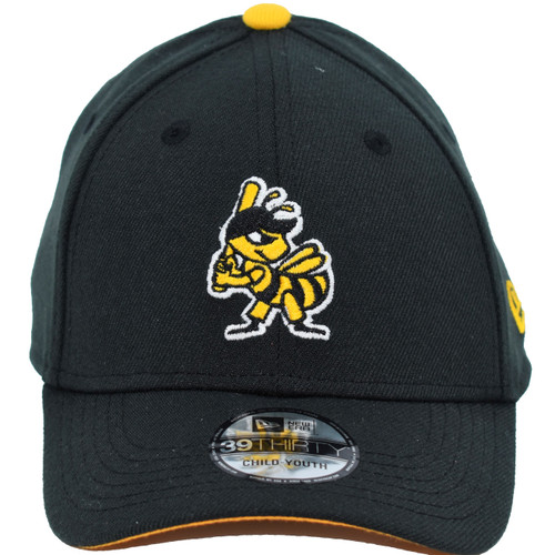 Yth Guess The Ending 39thirty Hat - HeadwearStretchYouth - Salt Lake Bees -  - Primary - Black - New Era