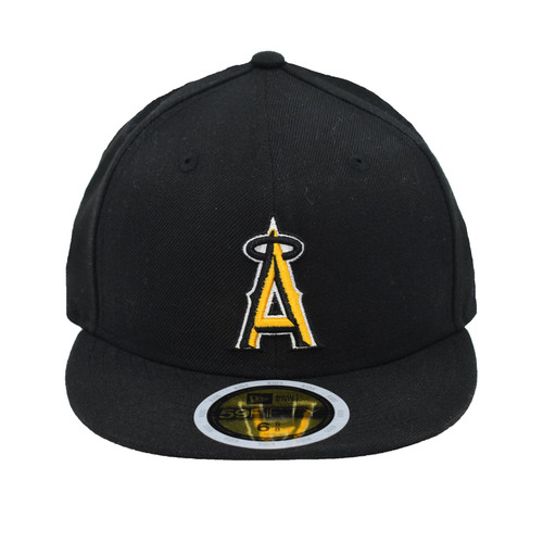 Yth Affiliation Color Swap 595fity - HeadwearFittedYouth - Los Angeles Angels -  - Primary - Black - New Era