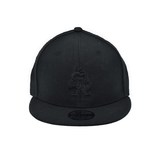 Yth Black on Black Partial 9fifty Hat - HeadwearAdjustableSnapbackYouth - Salt Lake Bees -  - Primary - Black - New Era