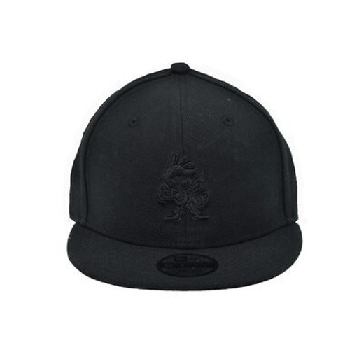 Yth Black on Black Partial 9fifty Hat -  - Black - Primary - New Era