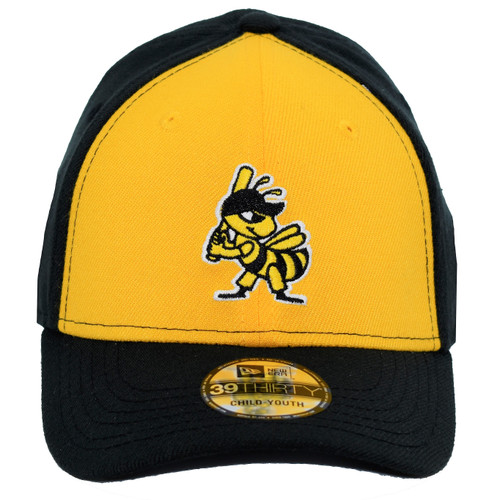 Yth What You Wear 39thirty Hat - HeadwearStretchYouth - Salt Lake Bees -  - Primary - Gold - New Era