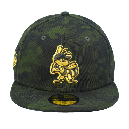 19 Military Appreciation 59fifty Hat - HeadwearFitted - Salt Lake Bees -  - Event - Green - New Era