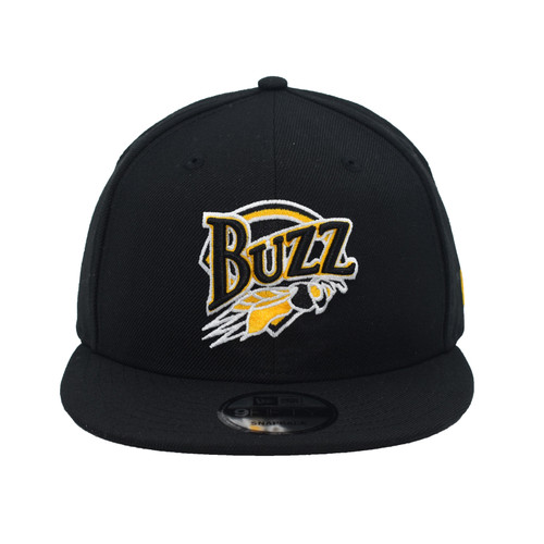 Throwback Color Swap 59fifty Hat - HeadwearAdjustableSnapback - Salt Lake Buzz -  - Primary - Black - New Era