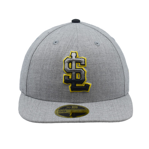 Sheesh 59fifty Hat - HeadwearFitted - Salt Lake Bees -  - Primary - Gray - New Era