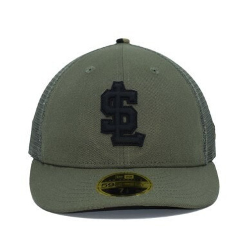 Design Lab Mesh Back Rubber Logo LP59fifty  -  - Green - Primary - New Era