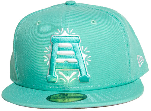 Primary Teal 70571489 59fifty Hat - HeadwearFitted - Abejas De Salt Lake -  - Primary - Teal - New Era