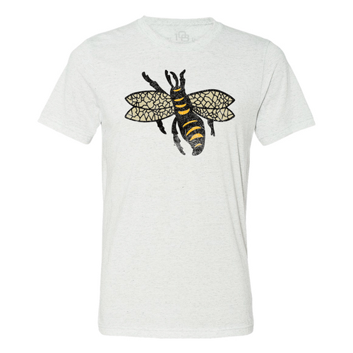 W Vintage 1925 Throwback Tee -  - Ivory - Primary - 108 stitches