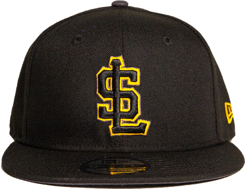 Primary Black 70570205 59fifty Hat - HeadwearFitted - Salt Lake Bees -  - Primary - Black - New Era
