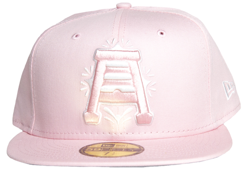 Primary Pink 70571493 59fifty Hat - HeadwearFitted - Abejas De Salt Lake -  - Primary - Pink - New Era
