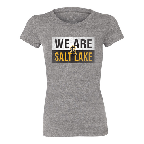W We Are Salt Lake Tee - WomensApparelTees - Salt Lake Bees -  - Primary - Gray - 108 Stitches