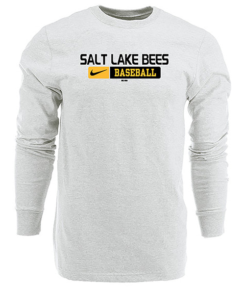 Issued Longsleeve -  - White - Primary - BSN Sports