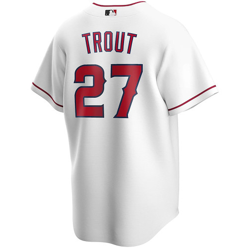 Home CoolBase Replica Player Jersey - Mike Trout - White -  - Fanatics