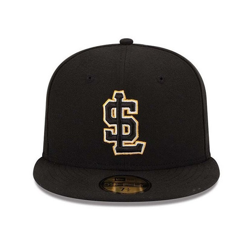 AC Road 59fifty Hat - HeadwearFittedMens - Salt Lake Bees -  - Primary - Black - New Era