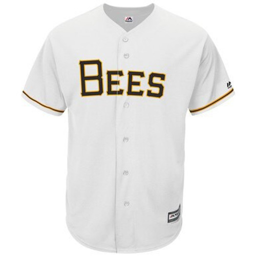 MiLB Mens Cool Base Home Jersey  -  - White - Primary - Fanatics