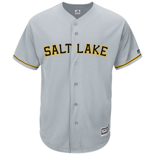 MiLB 15 CB Road Rep Jersey  - MensApparelJerseys - Salt Lake Bees -  - Primary - Gray - Majestic