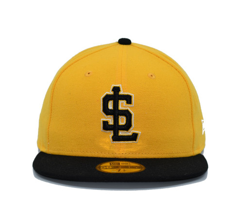 AC Alternate 3 59fifty - HeadwearFitted - Salt Lake Bees -  - Primary - Yellow - New Era