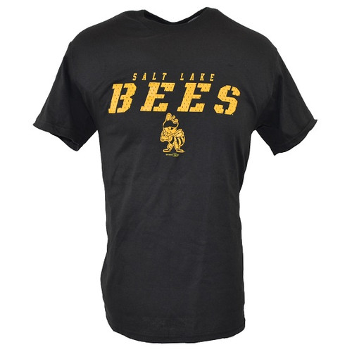 Yth Mesh Wordmark Value Sportswear Tee  - KidsApparelTeesYouth - Salt Lake Bees - - Black - Bimm Ridder