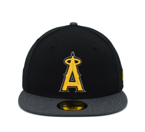 2T Camo 59fifty  - HeadwearFittedMens - Los Angeles Angels -  - Primary - Camo - New Era