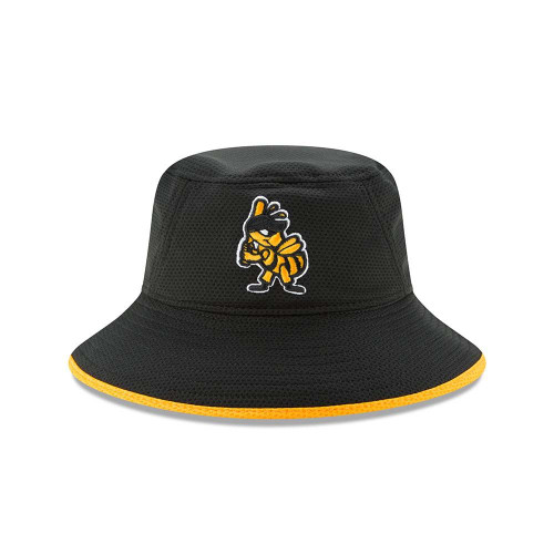 Hex Team Bucket  - HeadwearStretchMens - Salt Lake Bees -  - Primary - Black - New Era