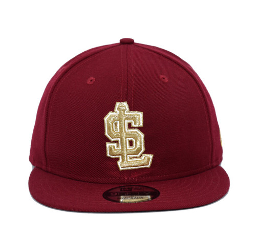 Cardinal 9fifty  - HeadwearAdjustableSnapback - Salt Lake Bees -  - Primary - Maroon - New Era