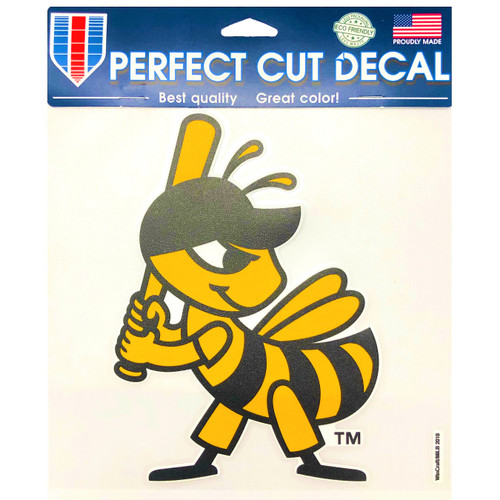 4x4 Die Cut Decal (Partial) - NoveltyStickers - Salt Lake Bees -  - Primary -  - WinCraft