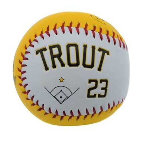 Play Ball Player Ball - Mike Trout - Gold - Primary - Rawlings
