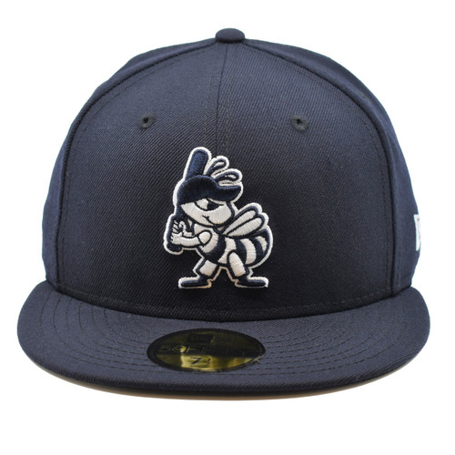 New York New York Partial 59fifty Hat - HeadwearFitted - Salt Lake Bees -  - Primary - Navy - New Era