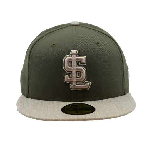 Always Another Show 59fifty Hat - HeadwearFittedMens - Salt Lake Bees -  - Primary - Green - New Era
