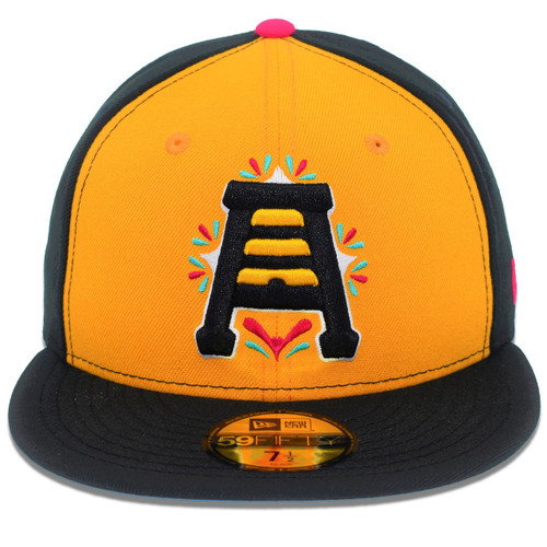 Panel Copa 59fifty Hat - HeadwearFittedMens - Salt Lake Bees -  - Copa - Gold - New Era