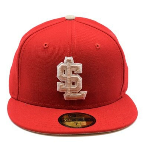 New Grass 59fifty Hat -  - Red - Primary - New Era
