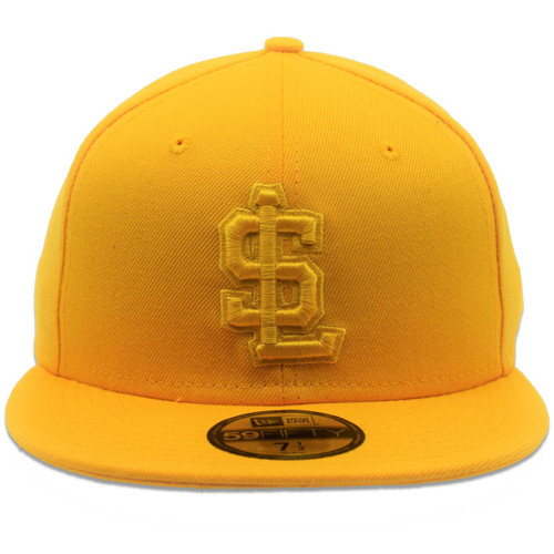 Tonal Collection 59fifty Hat - HeadwearFitted - Salt Lake Bees -  - Primary - Gold - New Era