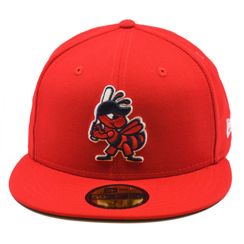 Affiliation Color Swap Core 59fifty Hat - HeadwearFitted - Salt Lake Bees -  - Primary - Red - New Era