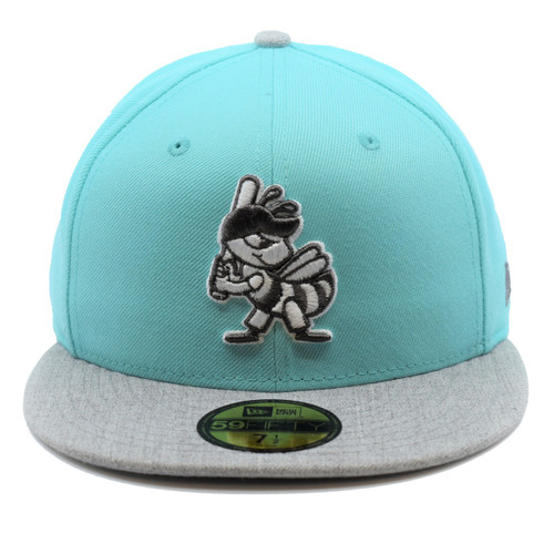 I Could Be Centerfield 59fifty Hat - HeadwearFitted - Salt Lake Bees -  - Primary - Teal - New Era