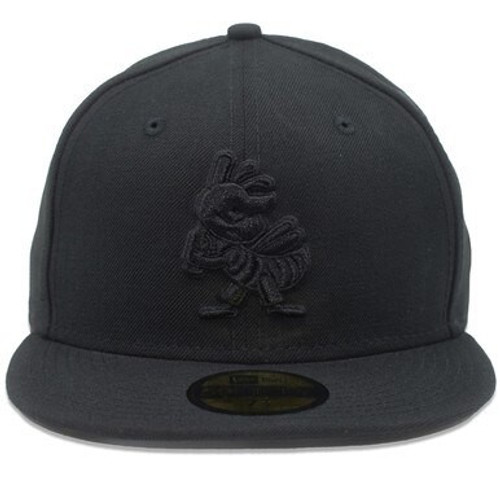 Black on Black Partial 1 Core 59fifty Hat -  - Black - Primary - New Era