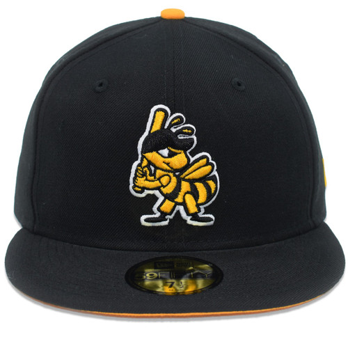Jersey Hook Alternate 59fifty Hat - HeadwearFitted - Salt Lake Bees -  - Primary - Black - New Era