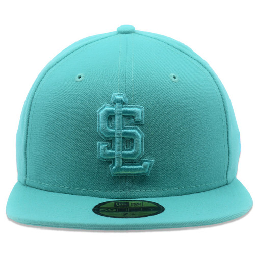 Tonal Collection 59fifty Hat - HeadwearFitted - Salt Lake Bees -  - Primary - Teal - New Era