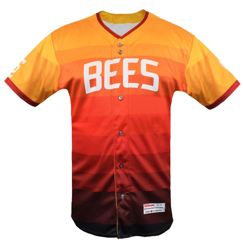 City Edition Authentic Jersey - MensApparelJerseysAuthentic - Salt Lake Bees -  - Event - Orange - Wilson