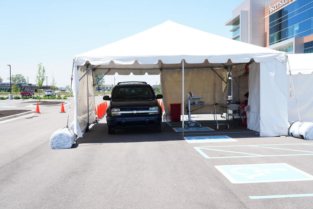 COVID-19 Testing Tents for Hospitals and Medical Facilities