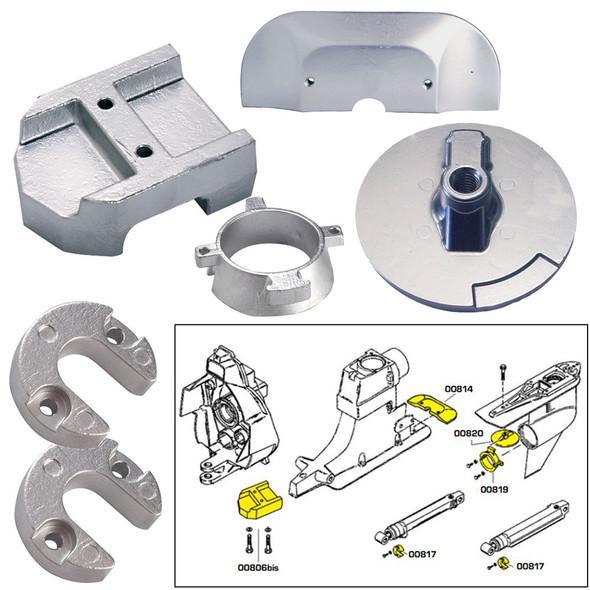 Tecnoseal Anode Kit w\/Hardware - Mercury Alpha 1 Gen 2 - Aluminum [20801AL]