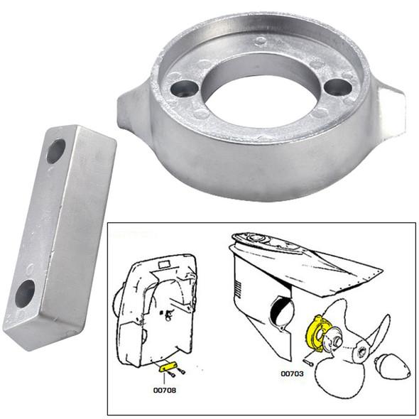 Tecnoseal Anode Kit w\/Hardware - Volvo 290 - Magnesium [20705MG]