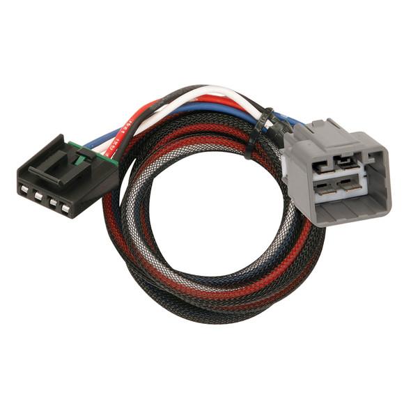 Tekonsha Brake Control Wiring Adapter - 2 Plug - fits Dodge, RAM, Jeep [3021-P]