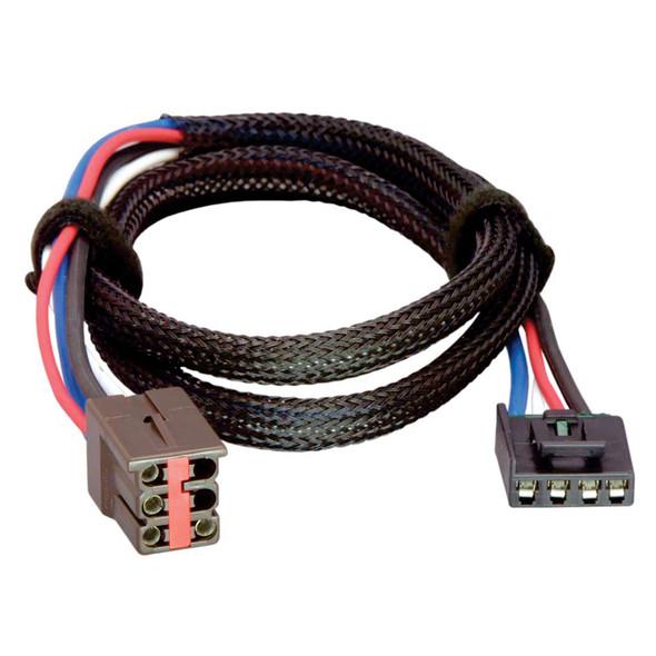 Tekonsha Brake Control Wiring Adapter - 2 Plug - fits Ford, Lincoln, Land Rover [3035-P]