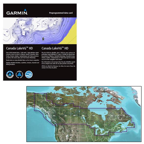 Garmin Canada LakeVu HD - microSD\/SD f\/GPSMAP, Montana & Oregon Handhelds [010-C1113-00]